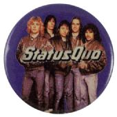 Status Quo - 'Dear John' Button Badge